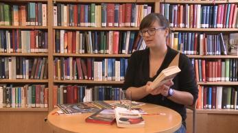 Bücher fahren Zug Interview
