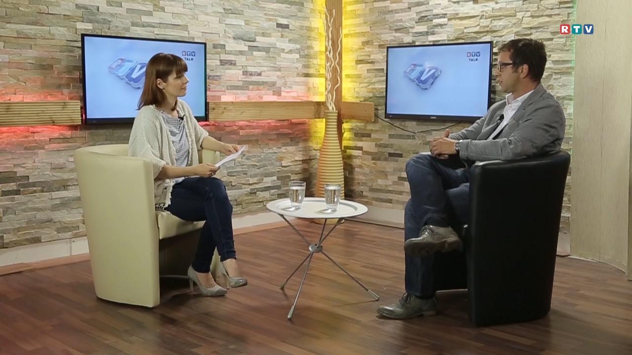RTV Talk mit Dr Josef Hutter