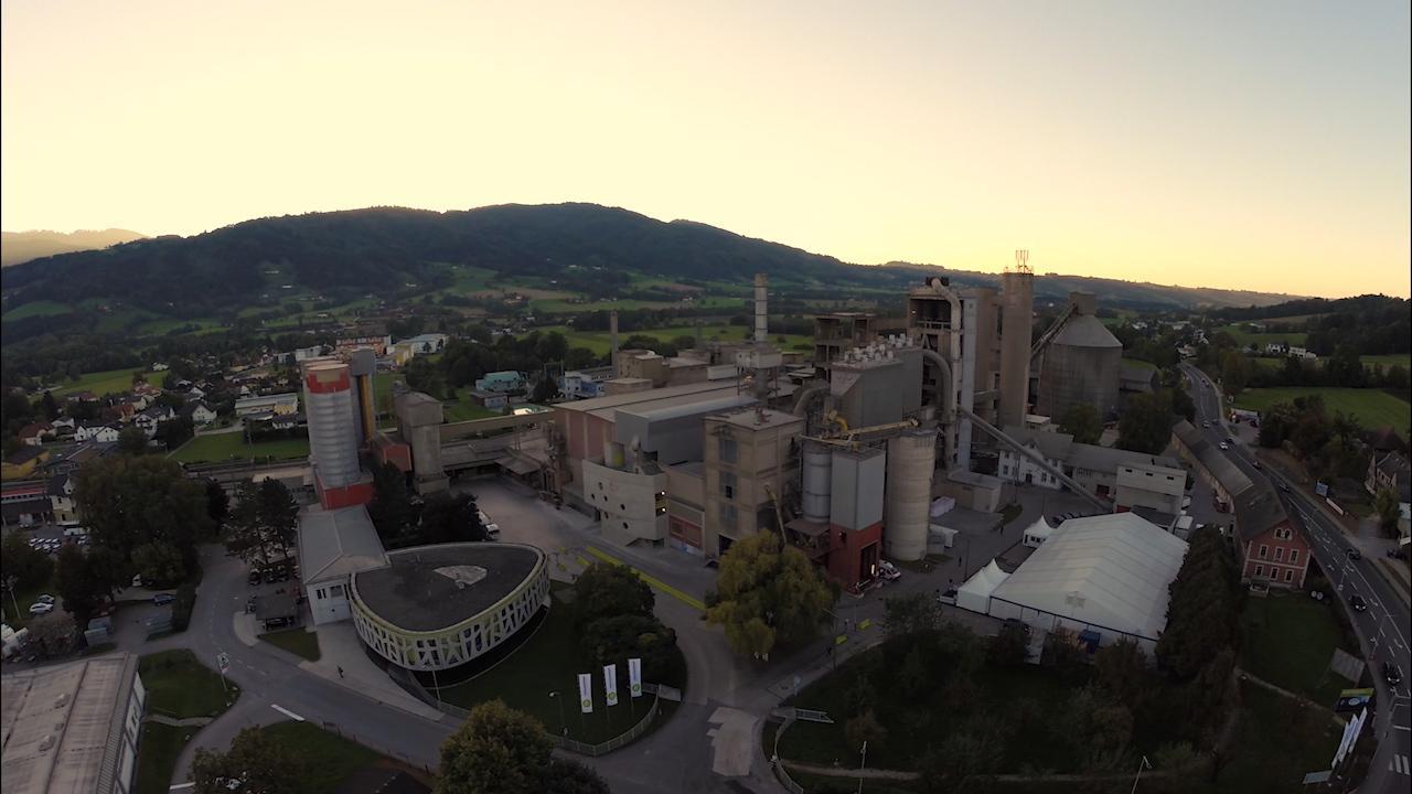 Eroeffnung DeCONOx- Anlage Kirchdorfer Zementwerk