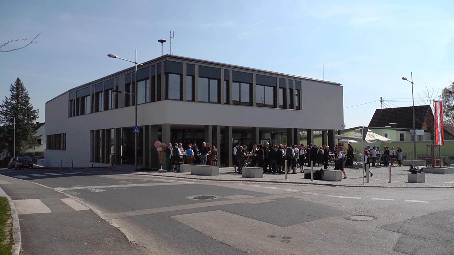 Eroeffnung neues Gemeindezentrum Aschach a. d. Steyr