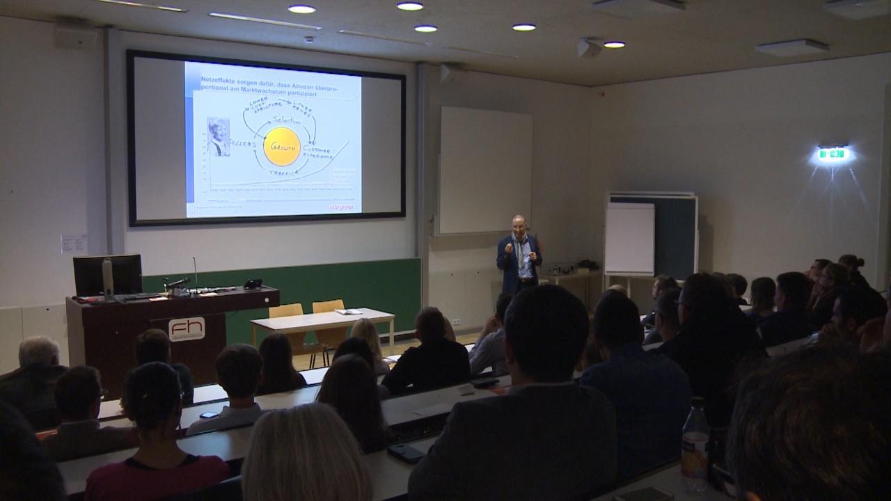 FH Management Talk mit Harald Gutschi