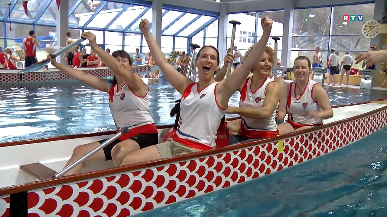 Indoor Drachenbootrennen Steyr