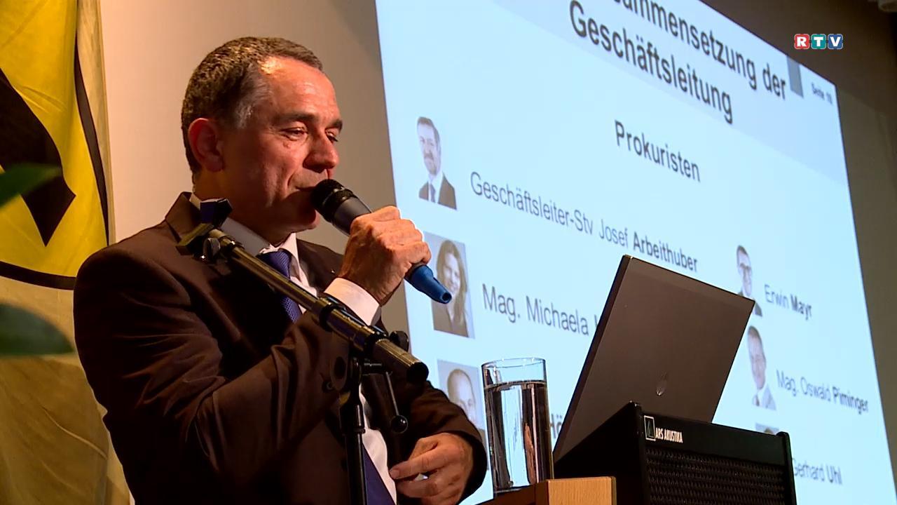 Generalversammlung Raiba Steyr