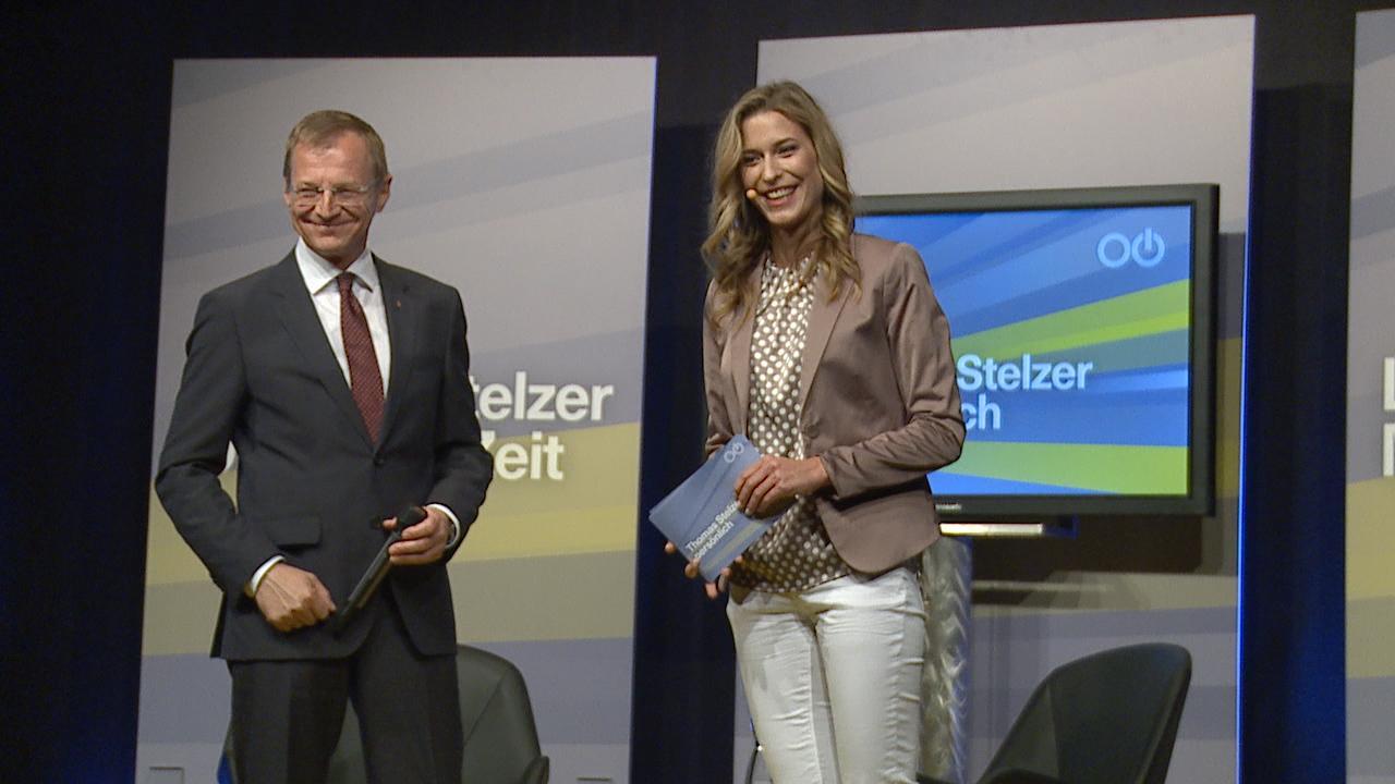 Pressekonferenz mit Landeshauptmann Thomas Stelzer
