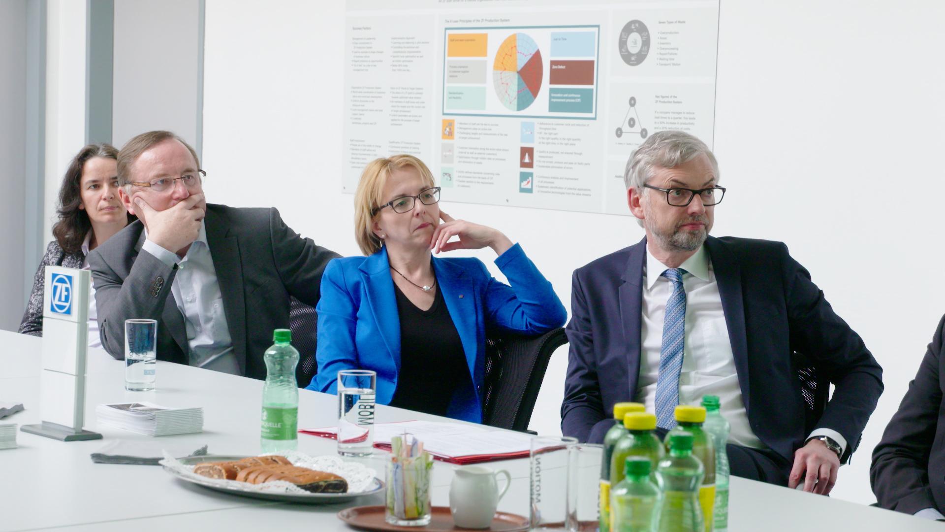 Wirtschaftslandesrat Strugl auf Bezirkstour in Steyr