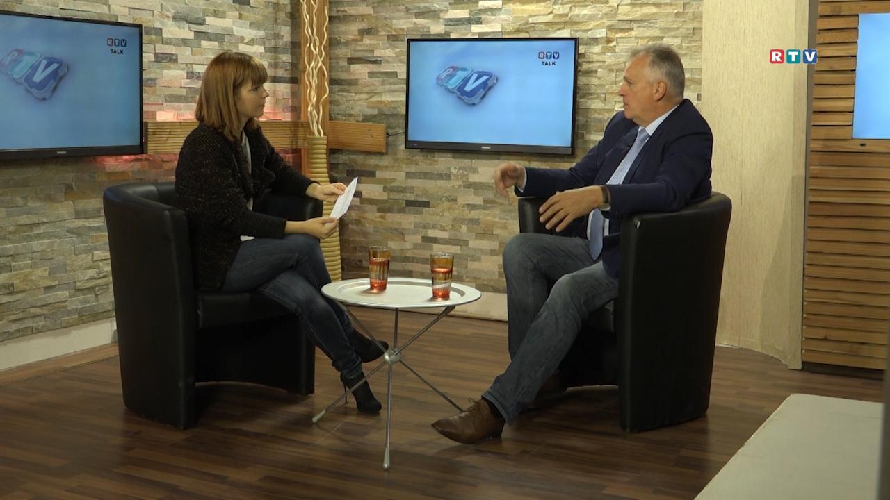 RTV Talk mit Gottfried Kneifel