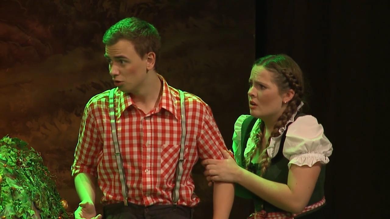 Kindertheater Hänsel und Gretel von der Volksbühne Steyr 2015