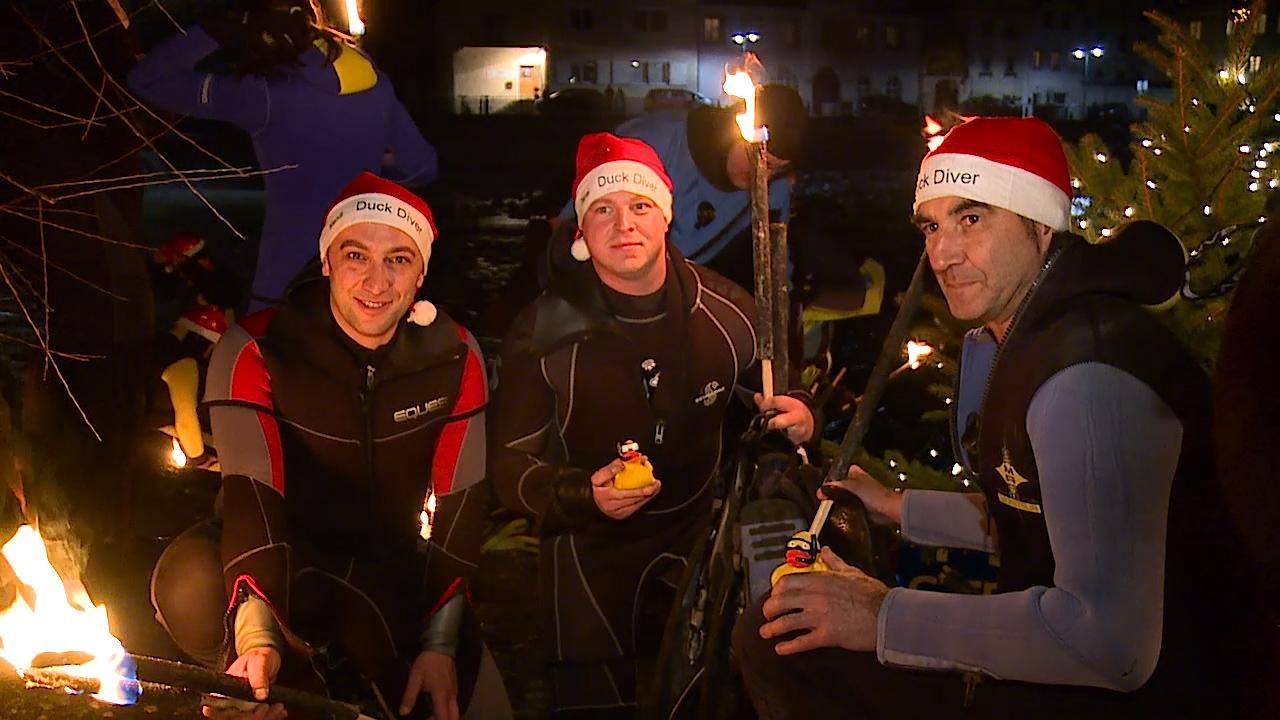 Weihnachtsschwimmen des Steyrer Tauchsportclub 2015